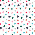 Seamless pattern with randomly colored triangles