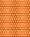 Seamless pattern of rectangles of curved lines. Royalty Free Stock Photo