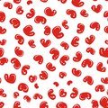 Seamless pattern with red apples for your design this is file of eps format Royalty Free Stock Photography