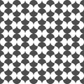 Seamless pattern of repeat round shapes. Geometric background.