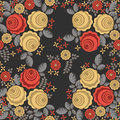Seamless pattern in retro style 4