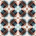 Seamless pattern of rhombuses