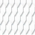 Seamless pattern with roof tiles white origami eps Stock Images
