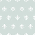 Seamless Pattern With Royal Lily