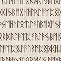Seamless pattern of runes for textiles interior design for book design website background Royalty Free Stock Images
