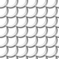 Seamless pattern with scales Royalty Free Stock Photo