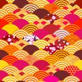 Seamless Pattern Fish Scales S...