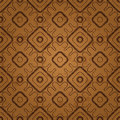 Seamless pattern with scratches abstract background geometric elements of folk style Royalty Free Stock Photos