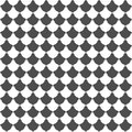 Seamless pattern of shapes. Geometric background.
