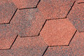Seamless pattern of shingles roof background Royalty Free Stock Images