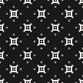 Seamless pattern with small arched squares Royalty Free Stock Photo