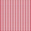 Seamless pattern with small red apples on white background. Royalty Free Stock Photo