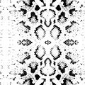 Seamless pattern Snake skin texture. black on white background. Vector Royalty Free Stock Photo