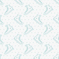 Seamless pattern with sneakers and polka dot.