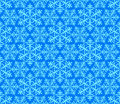 Seamless pattern snowflakes 3 Stock Photo