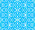 Seamless pattern snowflakes 4 Stock Images