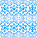 Seamless pattern from snowflakes.Winter background. Christmas template