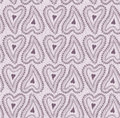 Seamless pattern soft gray purple lace ornament Royalty Free Stock Images