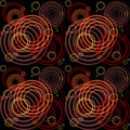 Seamless pattern with spiral elements. Stock Photography