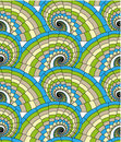 Seamless pattern - spirals Stock Images