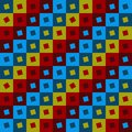 Seamless pattern. Square. Stock Photos