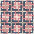 Seamless pattern of square elements color Royalty Free Stock Photography