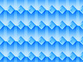 Seamless pattern with squares and transparent shadows in blue colors. Vector