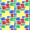 Seamless pattern stained-glass mosaic background Royalty Free Stock Photo