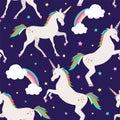 Unicorns with stars .