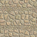 Seamless pattern of a stone Stock Photography