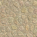 Seamless pattern of a stone Stock Photo