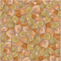 Seamless pattern - Stones Background in brown Royalty Free Stock Photo