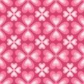 Seamless Pattern Of Stylized F...