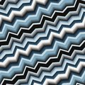 Seamless pattern texture with art d zigzag blue line Royalty Free Stock Image