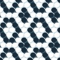 Seamless pattern tile with d textured balls Royalty Free Stock Images