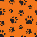 Seamless pattern with traces Royalty Free Stock Image