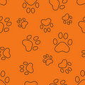 Seamless pattern with traces Stock Photos