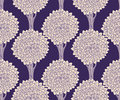 Seamless pattern with trees Stock Image