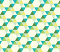 Seamless pattern of triangles Stock Photo