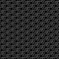 Seamless pattern of triangles and hexagons. Geometric background