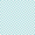 Seamless Pattern Turned Triangles Turquoise And White