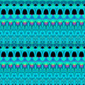 Seamless pattern turquoise black magenta Royalty Free Stock Photo