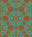 Seamless pattern turquoise color repeat texture Royalty Free Stock Photography
