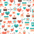 Seamless pattern for valentines day date and wedd weddings textiles interior design book design website background Royalty Free Stock Image