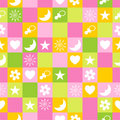 Seamless pattern. Vector Stock Photo