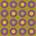 Seamless pattern, vector background with colored circles, web page background