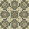 Seamless pattern with vegetal motives seamlessly repeating ornamental wallpaper or textile hand painted of queen anne s lace Royalty Free Stock Photos