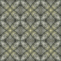 Seamless pattern with vegetal motives seamlessly repeating ornamental wallpaper or textile hand painted of queen anne s lace Stock Photography