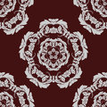 Seamless pattern vintage background. Royalty Free Stock Image