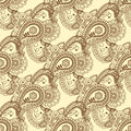 Seamless pattern. Vintage decorative elements. Hand drawn background. Islam, Arabic, Indian, ottoman motifs. Perfect for printing